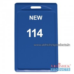 48X72 Mm Vertical Blue Holder (No 114)