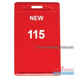 48X72 Mm Vertical Red Holder (No 115)