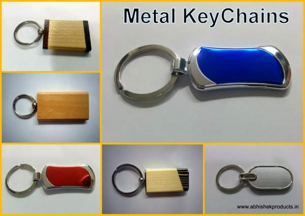 Metal Key Chain With Printing
